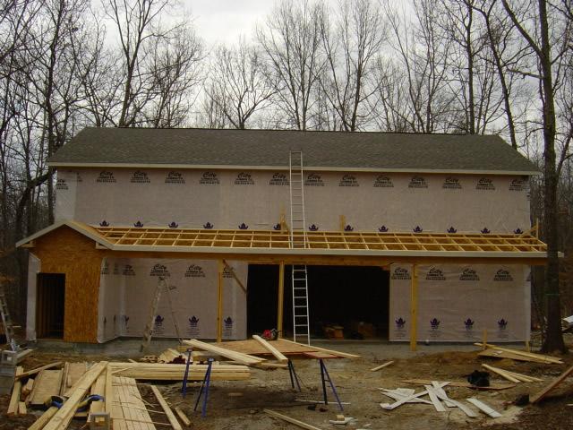 Detached garage build huntsville madison alabama for Garage builders alabama