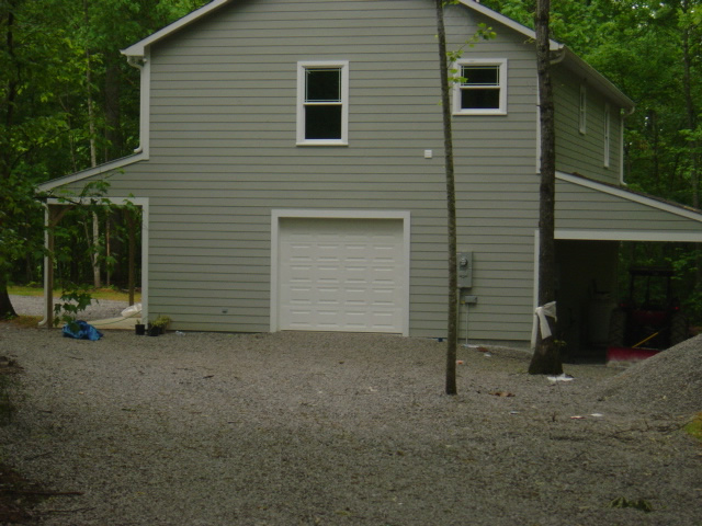 Detached Garage Build Huntsville Madison Alabama