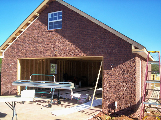 Brick garage 2 structure remodeling structureremodeling for Garages and carports
